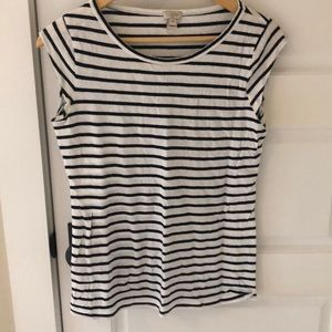 J Crew Factory striped t shirt